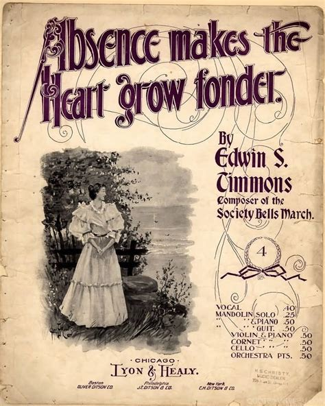 absence makes the heart grow fonder quote