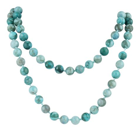bead necklace 32 quot 8mm turquoise jasper gemstone bead necklace