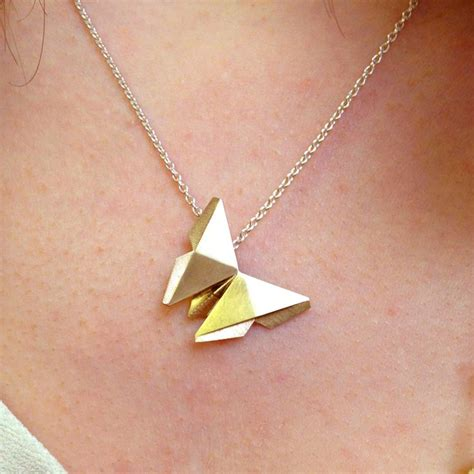 origami necklace and charms 25 best ideas about butterfly necklace on