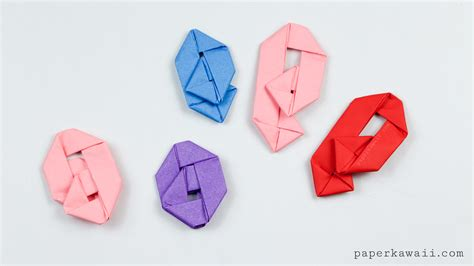 paperclip origami how to make an origami paperclip paper kawaii