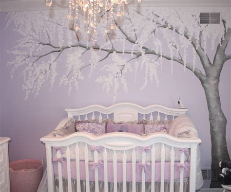 purple wall decals for nursery baby nursery ideas for purple 1 wall decal