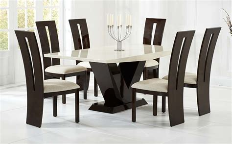 set of dining table and chairs dining table sets the great furniture trading company