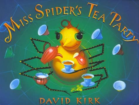 spider picture books miss scary spider s tea s wonderful books