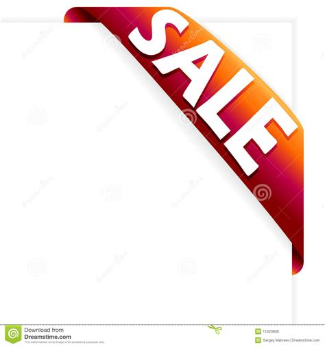 ribbon for sale sale ribbon royalty free stock photos image 11023808