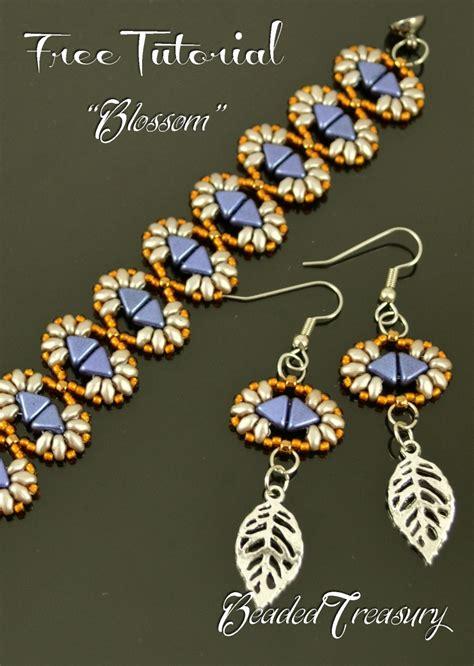 2 bead patterns free beading tutorial blossom beadedtreasury