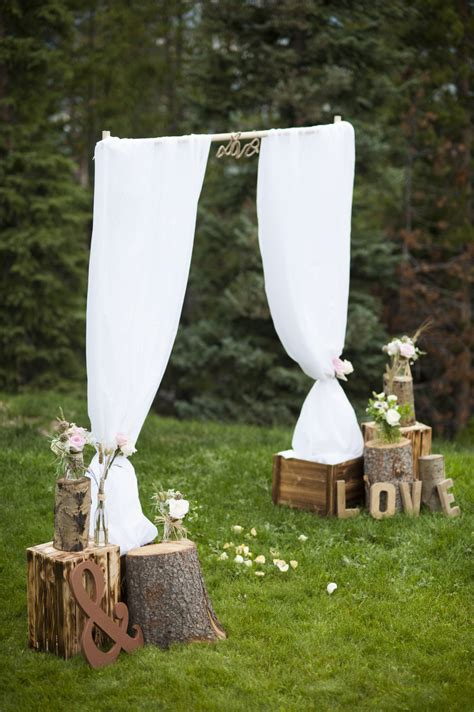 rustic outdoor decorations say i do to these fab 51 rustic wedding decorations