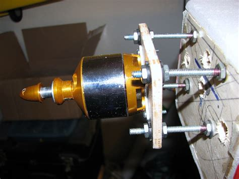 Electric Plane Motor by Show Your Motor Mounts For Electric Conversions