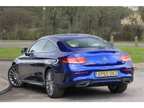 Mercedes C Class Diesel by Used 2016 Mercedes C Class Diesel Coupe C250d Amg