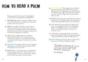 how to read a read carry a poem