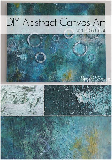 acrylic painting diy diy abstract canvas mountainmodernlife
