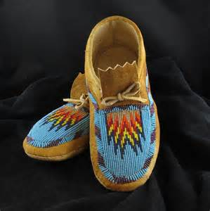 beaded moccasins and beaded moccasins