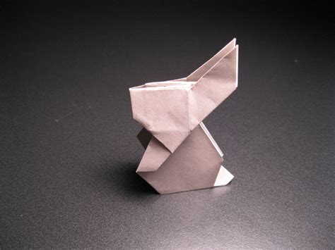 to the moon rabbit origami simple origami rabbit