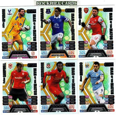 match attax make your own card match attax 13 14 choose your own of the match 361 390