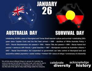 why does australia celebrate naccho aboriginal health and january 26 debate what does