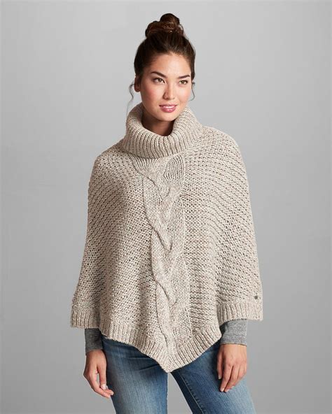 cable knit poncho sweater s cable poncho sweater eddie bauer i can so knit