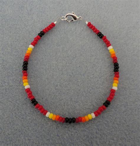 beaded american bracelets beaded bracelet american made all sizes ebay