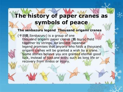 origami cranes symbolism 2013 14 syria origami cranes for peace