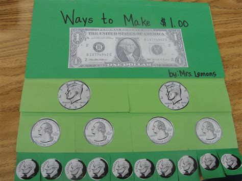using money step into 2nd grade with mrs lemons show me the money