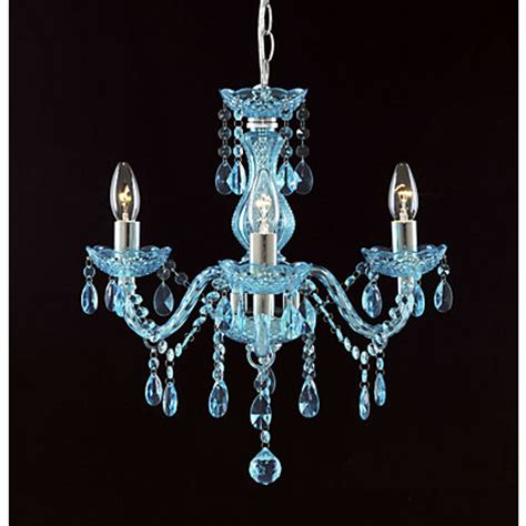 homebase chandelier therese 3 light chandelier teal at homebase be