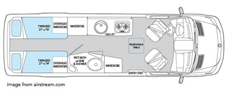 type b motorhome floor plans the best small rv s living large in a small space