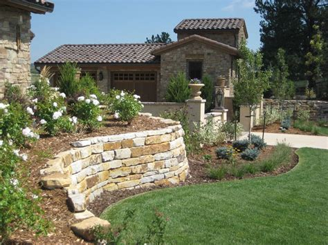 retaining walls for gardens retaining wall design landscaping network