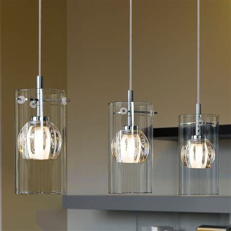 pendant kitchen lights uk eglo 93103 ricabo transparent and satinated glass