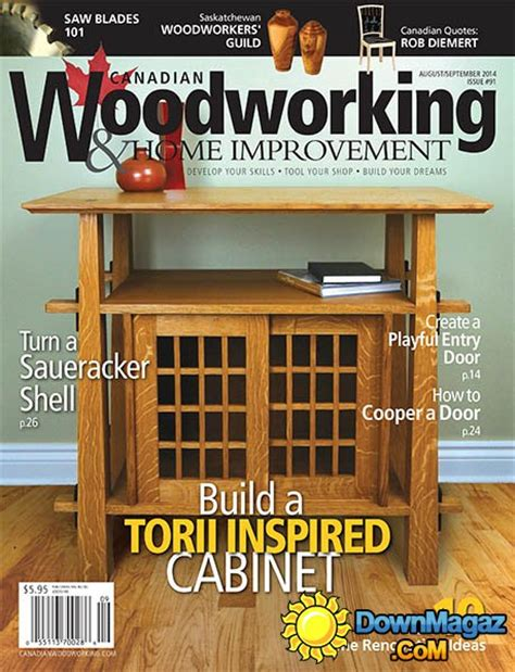 canadian woodworking magazine canadian woodworking home improvement 91 august