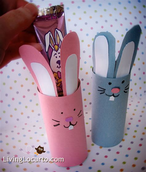 bunny toilet paper roll craft easter paper crafts for toilet paper roll craft