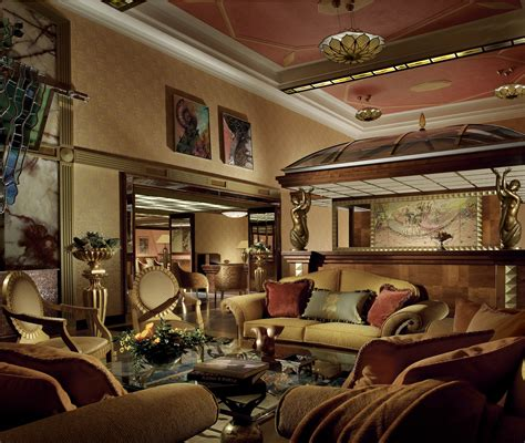 deco interior design modern house
