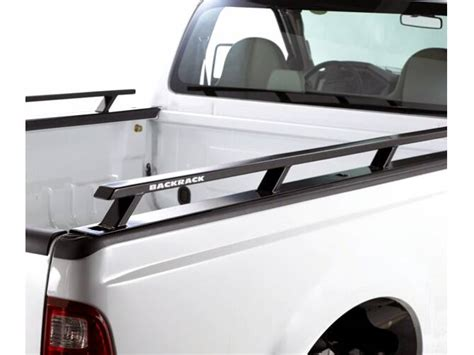 side bed rails for bed backrack bed rails rugged work truck side rails