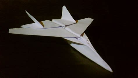 origami paper plane fighter origami f15 jet fighter tadashimori flickr photo