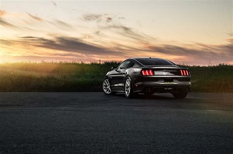 Car Sunset Wallpaper by Wallpapers Cars Ford Mustang Avant Garde Wheels Sunset