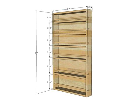 spice rack woodworking plans how to build hanging spice rack plans pdf plans
