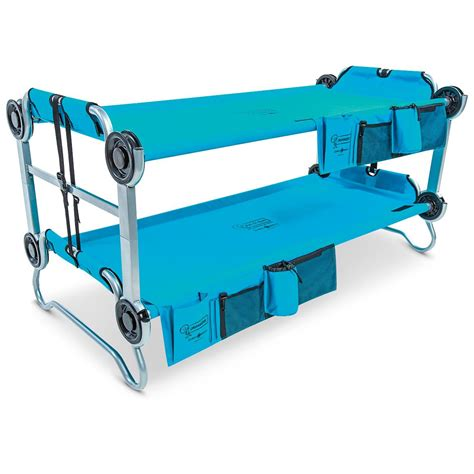 portable bunk beds disc o bed kid o bunk portable bunk bed with organizers