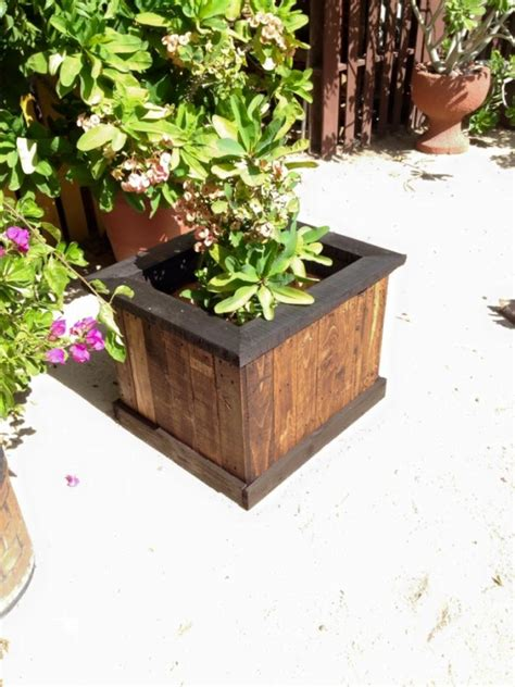 pallet planter box plans pallet garden planter box pallet ideas recycled
