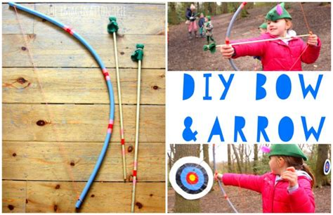 bow and arrow craft for diy bow and arrow for the imagination tree
