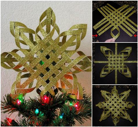 how to make paper ornaments for tree paper snowflake ornament diy tutorial beesdiy