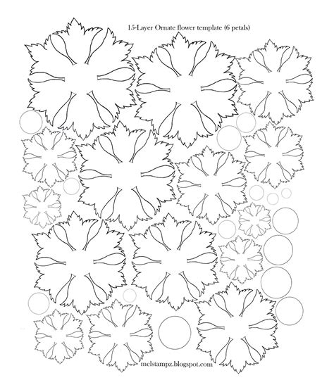 flower templates for card paper hints tips tools techniques and projects on