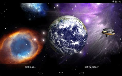 Car Wallpaper With Android Moon by Earth And Moon Live Wallpaper Wallpapersafari