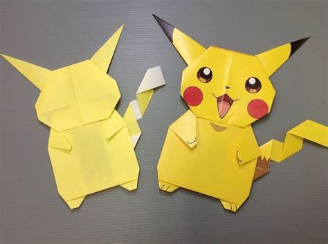 how to make pikachu origami daily origami 841 pikachu origami