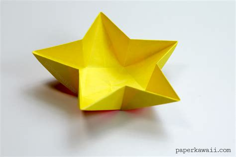 origami in origami bowl paper kawaii