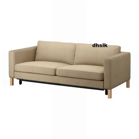 sofa bed slipcover ikea ikea karlstad sofa bed slipcover sofabed cover lindo beige