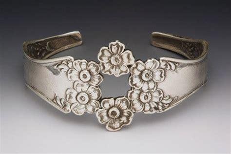 silver spoon jewelry silver spoon florentine cuff bracelet antique spoon