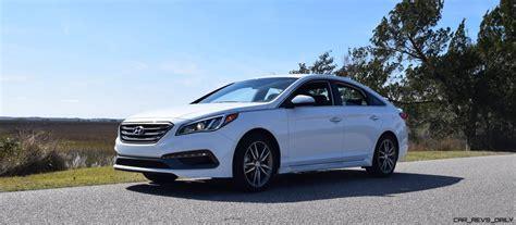 2016 Hyundai Sonata Sport 2 0t by 2016 Hyundai Sonata Sport 2 0t Quartz White 48 187 Car Revs