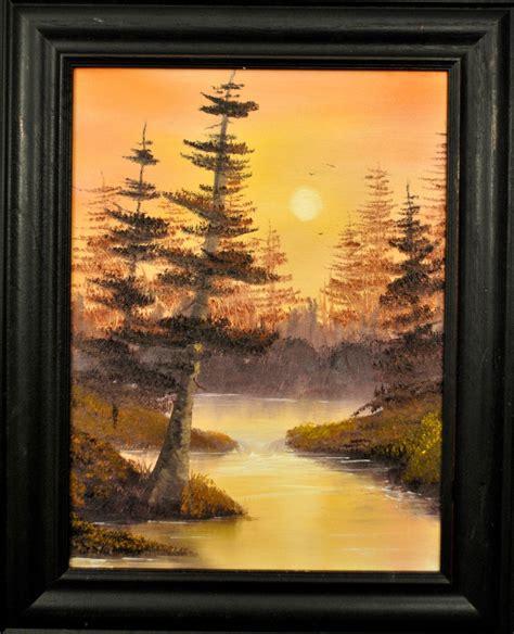 bob ross painting an evergreen tree happy trees studio november 2012