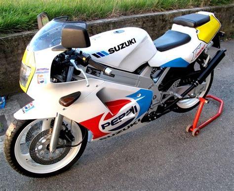Suzuki Rgv 250 by Suzuki Rgv 250 Gamma Edition Pepsi 1989 Catawiki