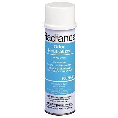 odor neutralizing radiance odor neutralizer