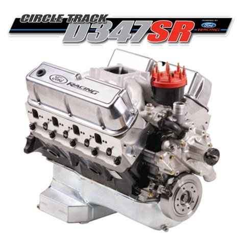 Ford Racing Crate Engines by Ford Racing M 6007 D347sr Sealed Circle Track Crate Engine