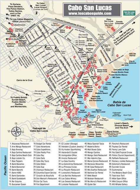cabo san lucas mapa map of los cabos cabo san lucas this will be soo handy