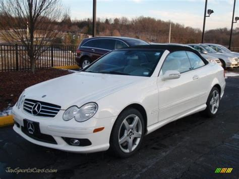 2005 Mercedes Clk500 by 2005 Mercedes Clk 500 Cabriolet In Alabaster White